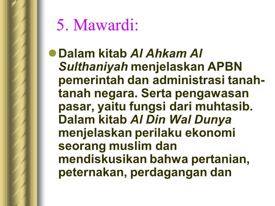 5. Mawardi: