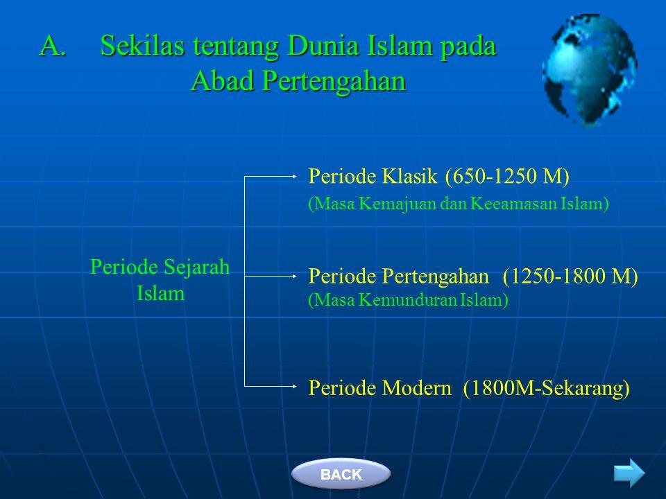 Sekilas tentang Dunia Islam pada Abad Pertengahan