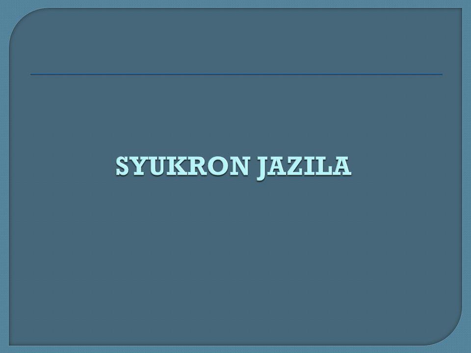 SYUKRON JAZILA