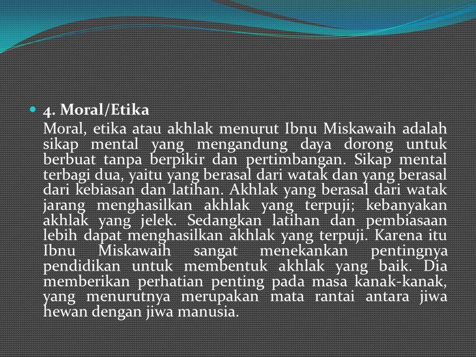 4. Moral/Etika