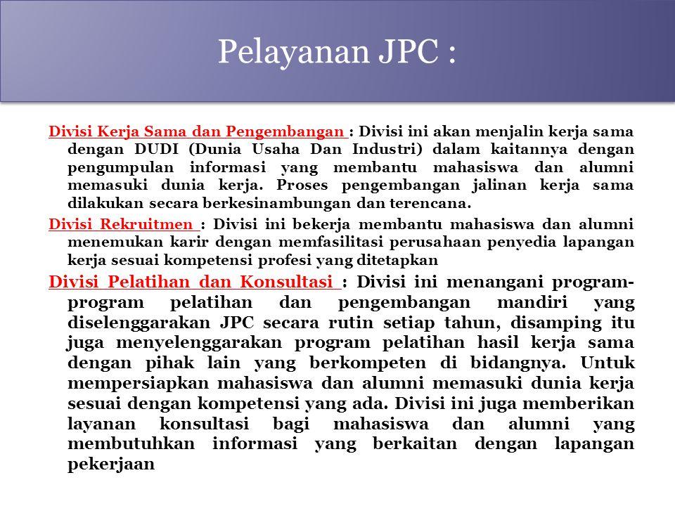 Pelayanan JPC :