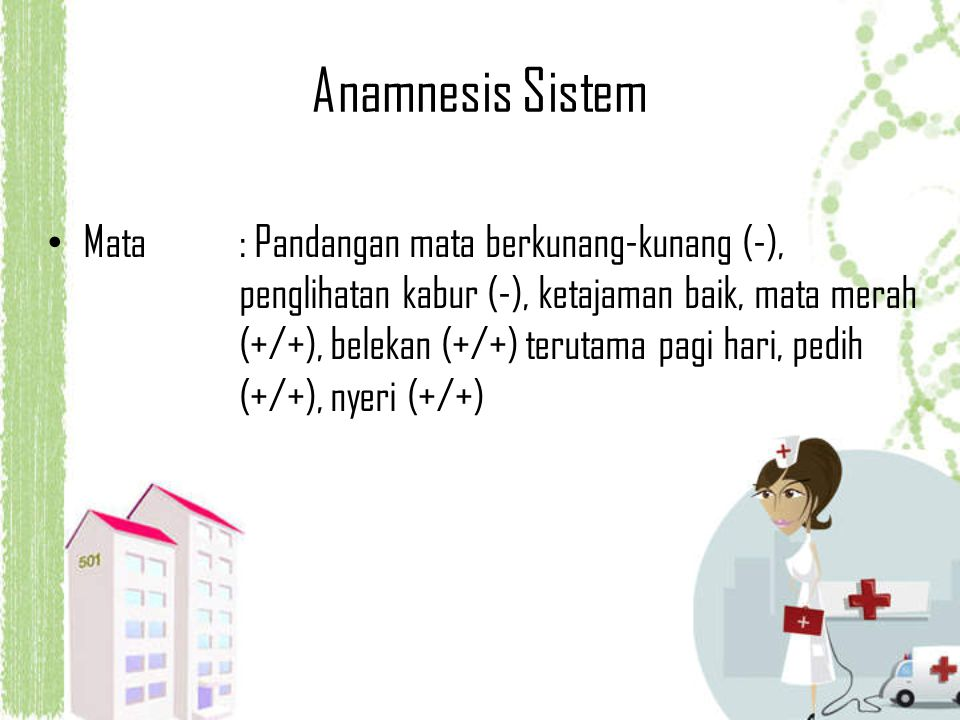 Anamnesis Sistem