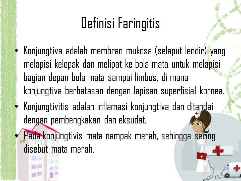 Definisi Faringitis