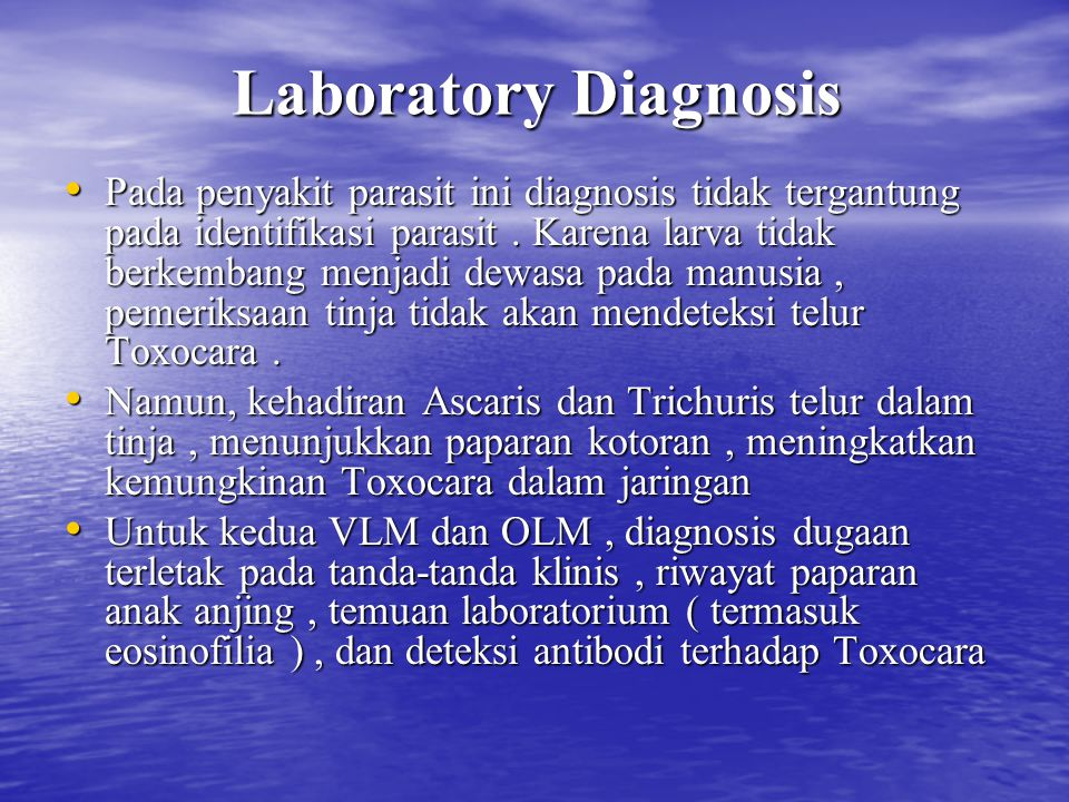 Laboratory Diagnosis