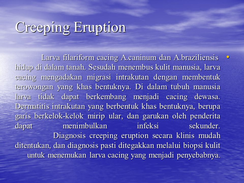 Creeping Eruption