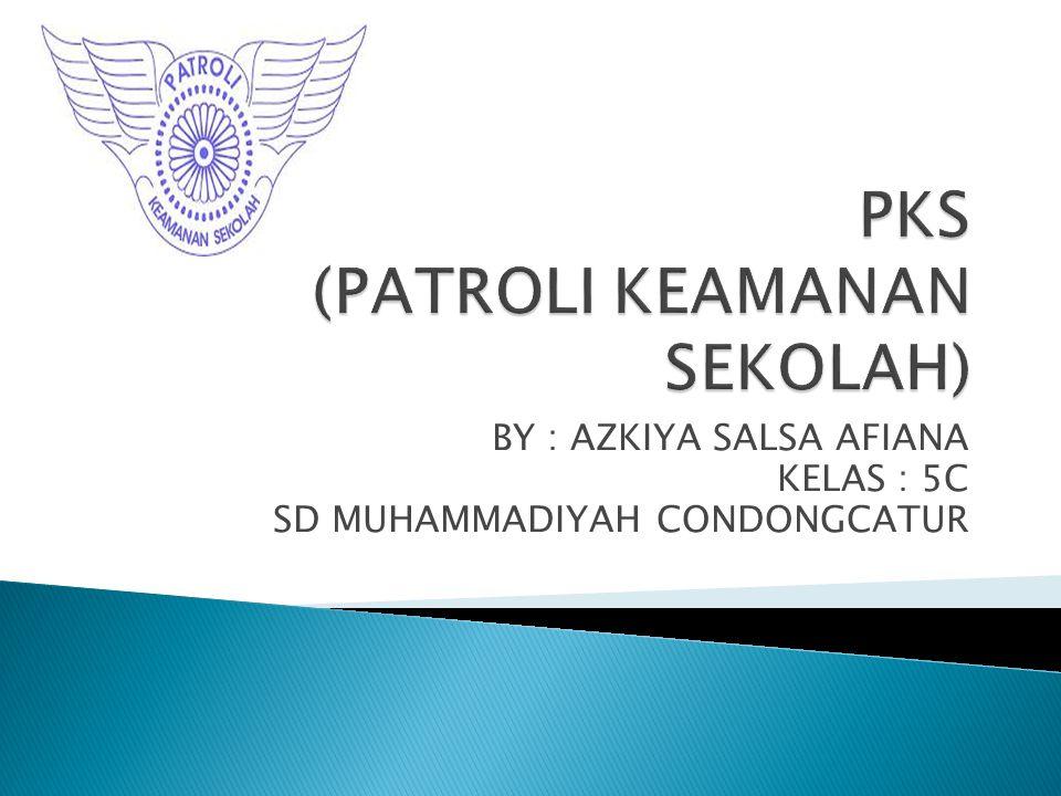 PKS (PATROLI KEAMANAN SEKOLAH)