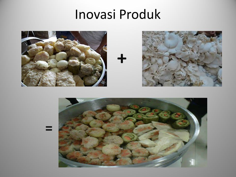 Inovasi Produk + =
