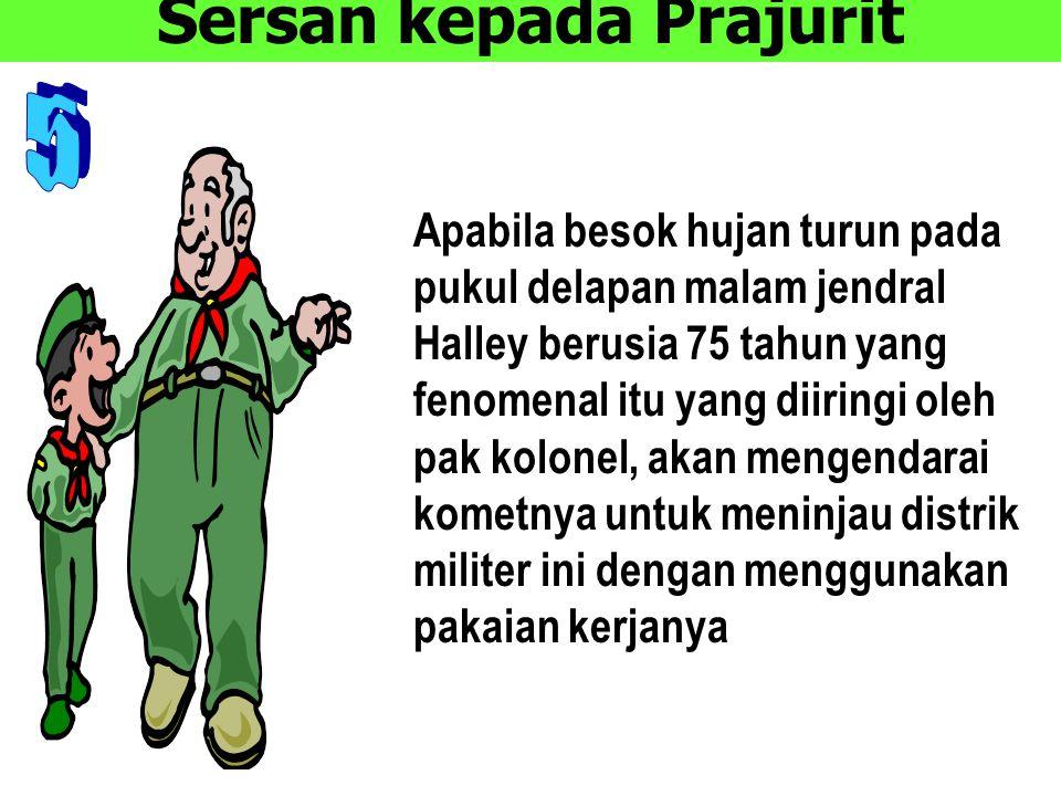 Sersan kepada Prajurit
