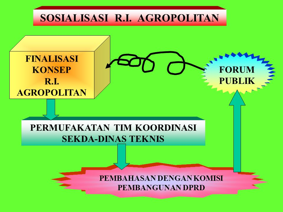 SOSIALISASI R.I. AGROPOLITAN