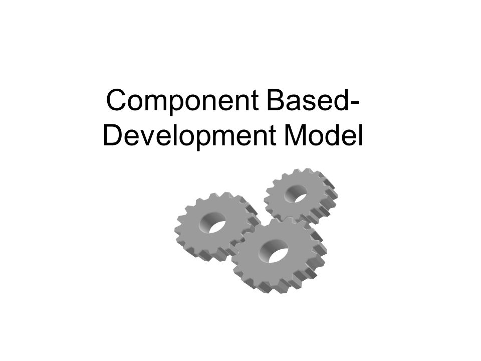 Component Based-Development Model