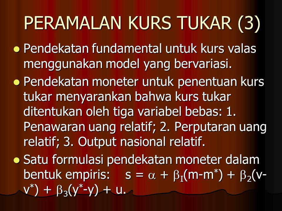 PERAMALAN KURS TUKAR (3)
