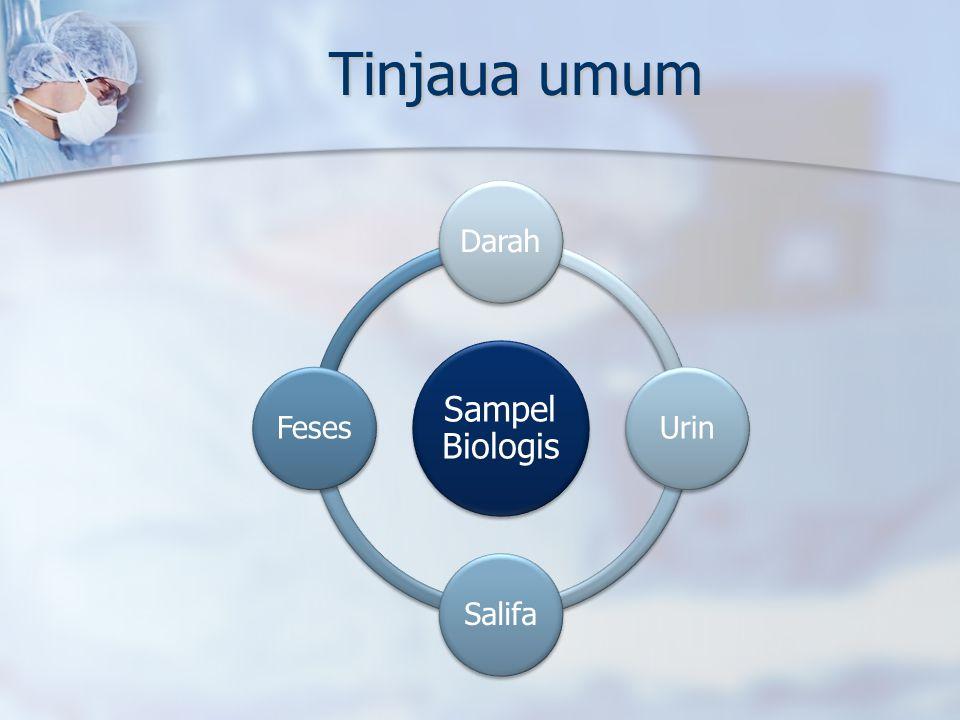 Tinjaua umum Sampel Biologis Darah Urin Salifa Feses