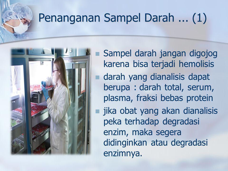 Penanganan Sampel Darah ... (1)