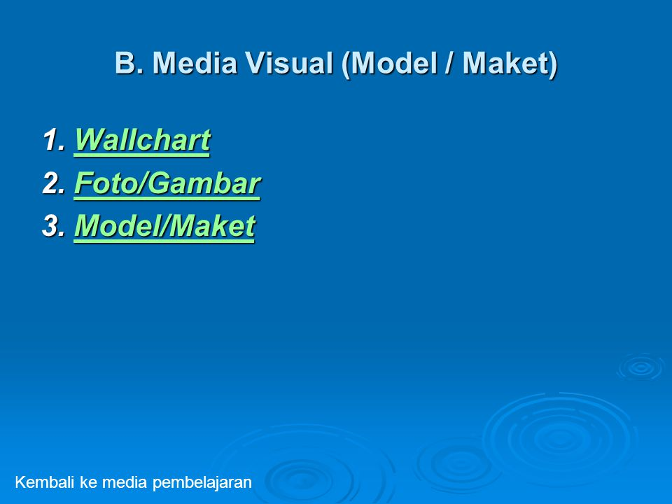 B. Media Visual (Model / Maket)