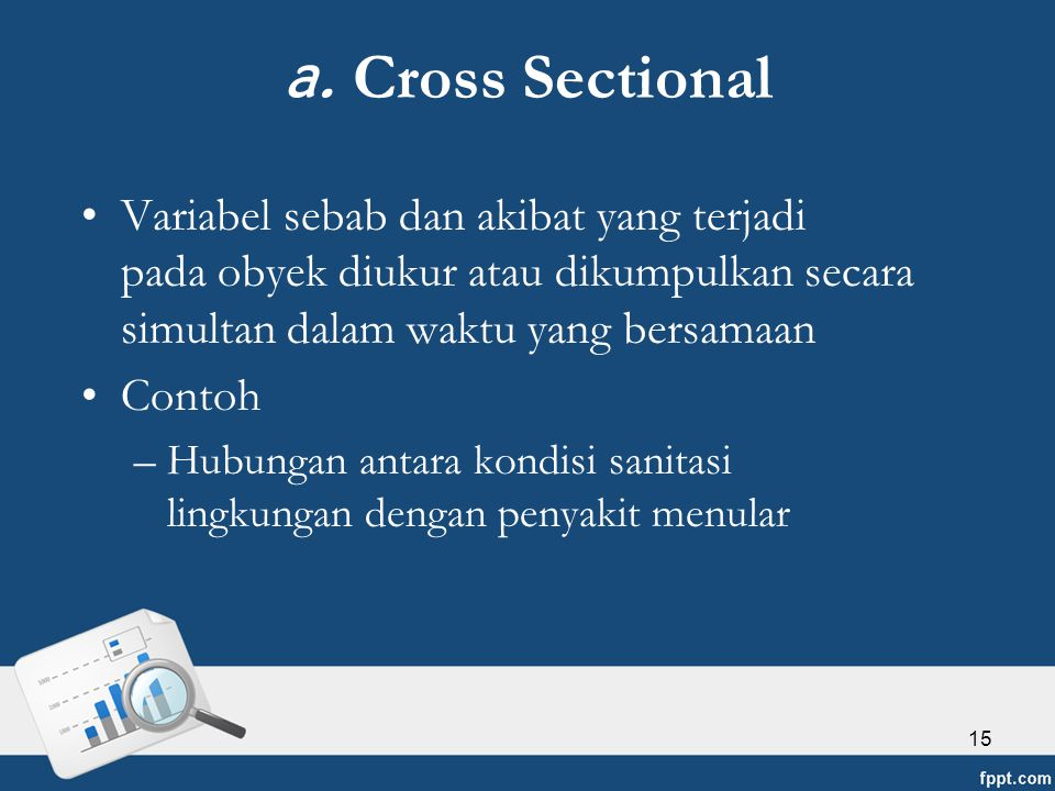 a. Cross Sectional