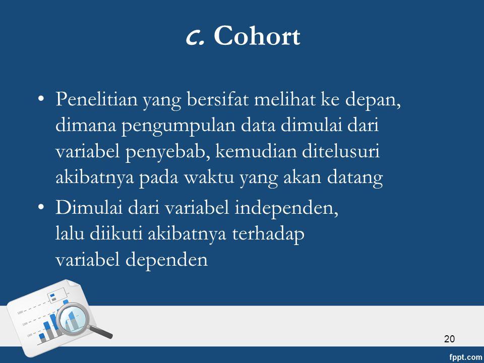 c. Cohort