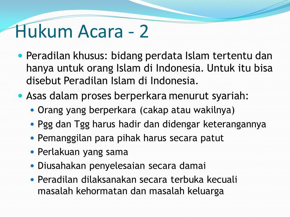 Hukum Acara - 2