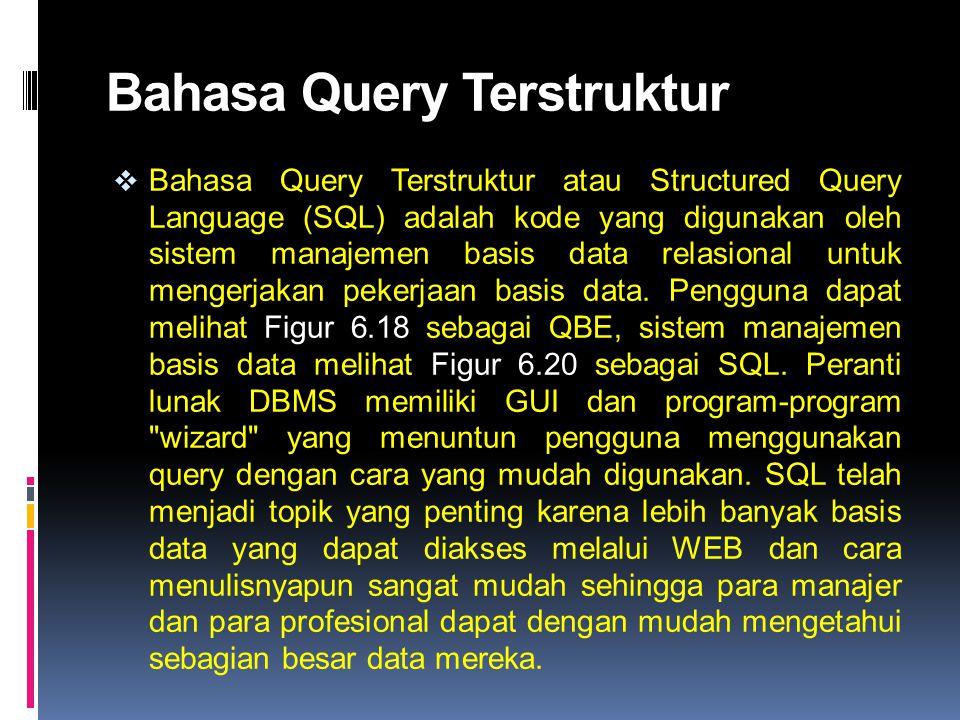 Bahasa Query Terstruktur