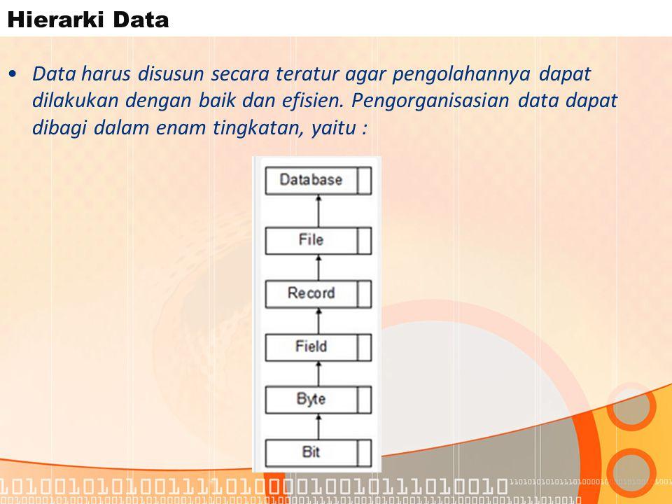Hierarki Data