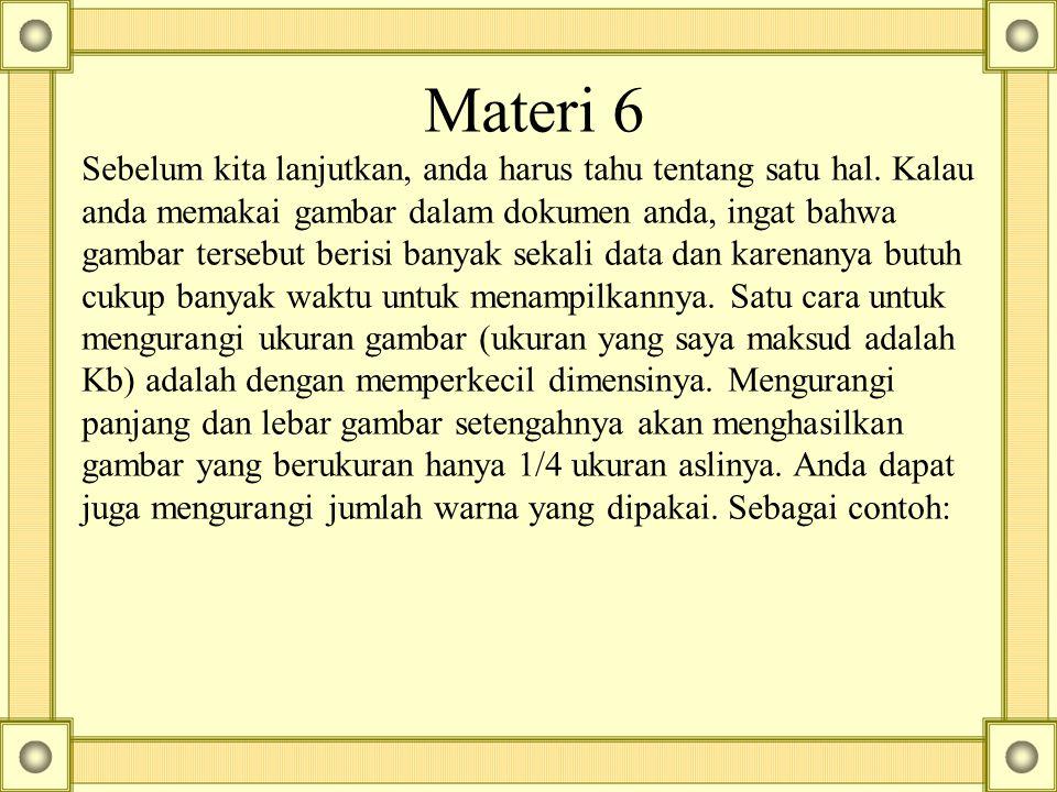 Materi 6