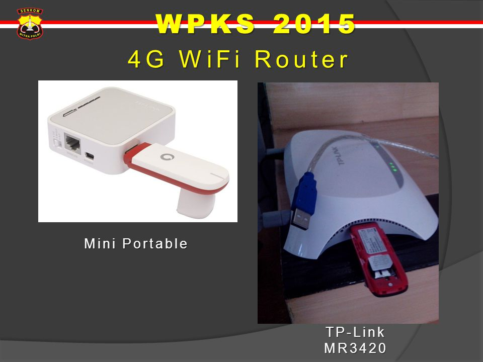 WPKS 2015 4G WiFi Router Mini Portable TP-Link MR3420