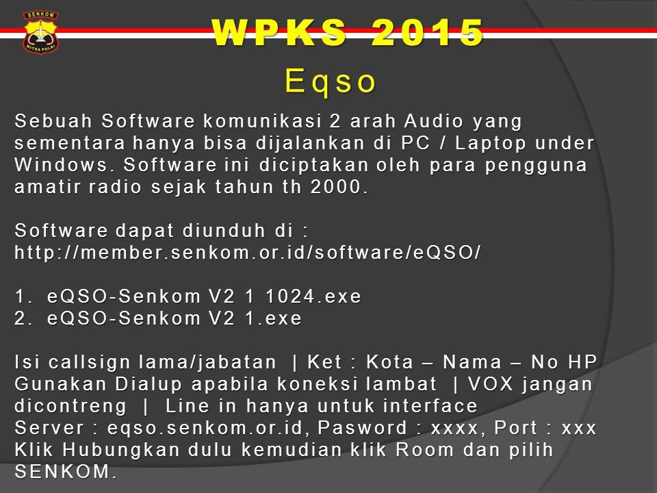 WPKS 2015 Eqso.