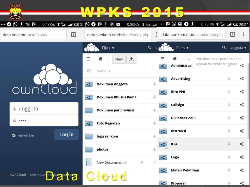 WPKS 2015 Data Cloud