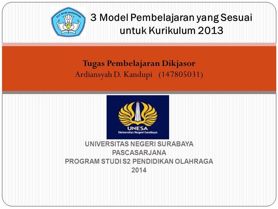 3 Model Pembelajaran yang Sesuai untuk Kurikulum 2013