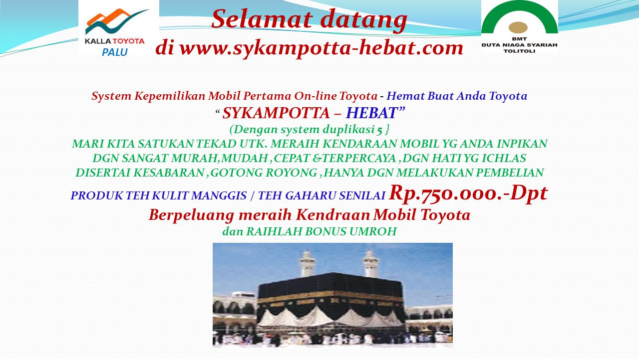 Selamat datang di www.sykampotta-hebat.com