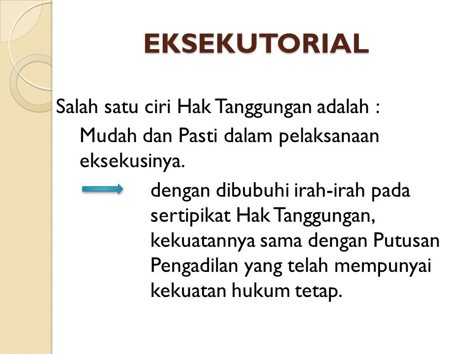 EKSEKUTORIAL