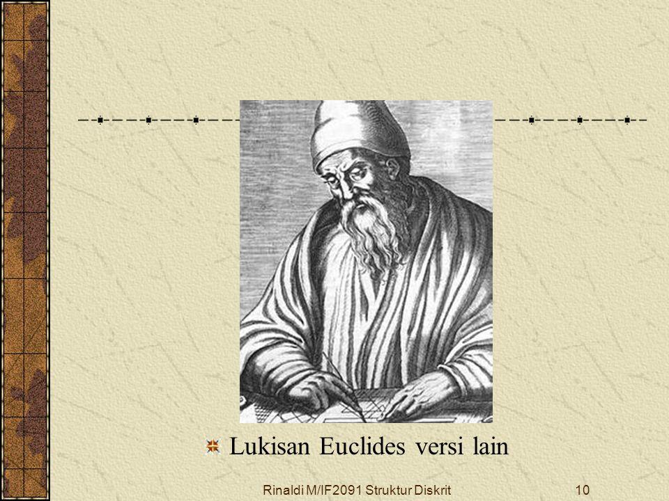 Lukisan Euclides versi lain