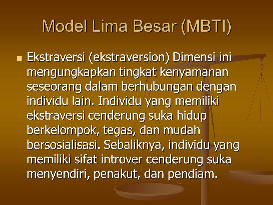 Model Lima Besar (MBTI)