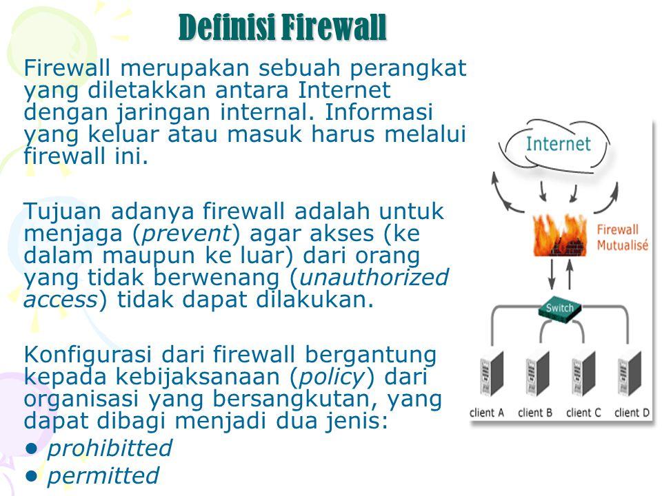 Definisi Firewall
