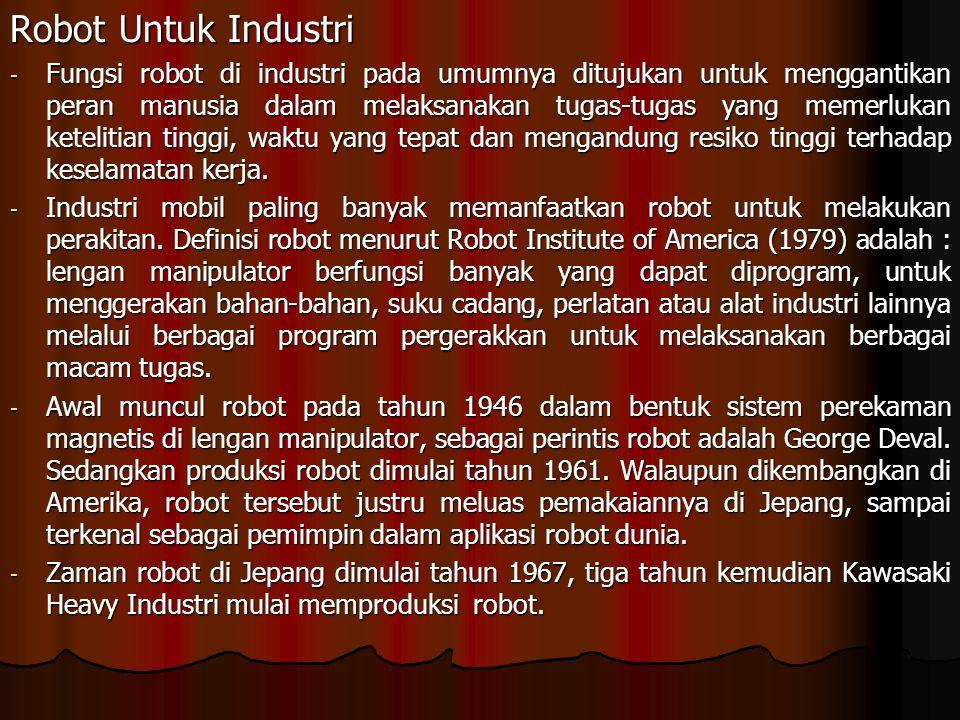 Robot Untuk Industri