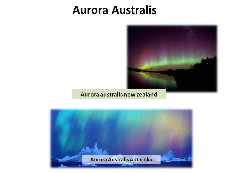 Aurora australis new zealand Aurora Australis Antartika