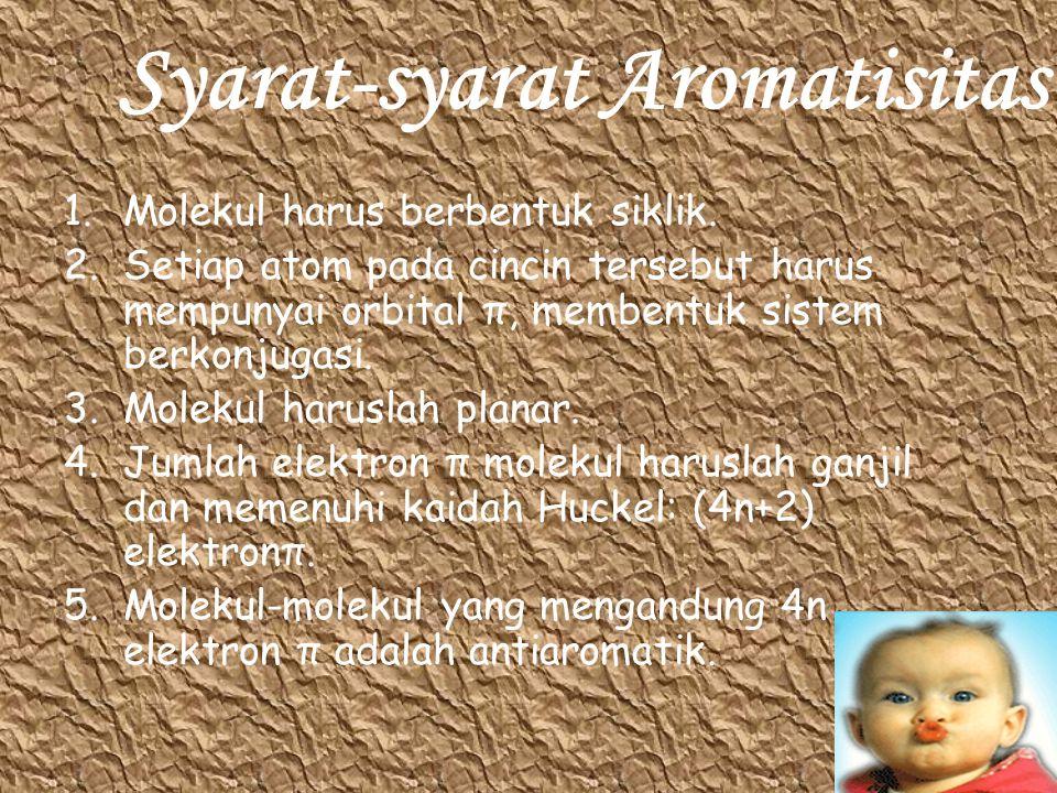 Syarat-syarat Aromatisitas