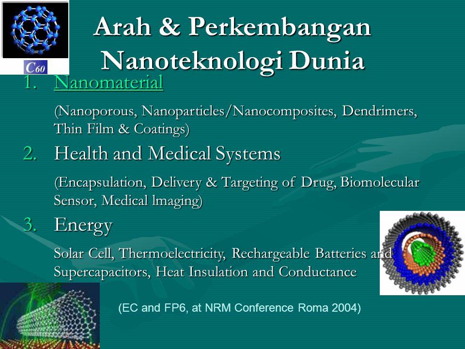 Arah & Perkembangan Nanoteknologi Dunia