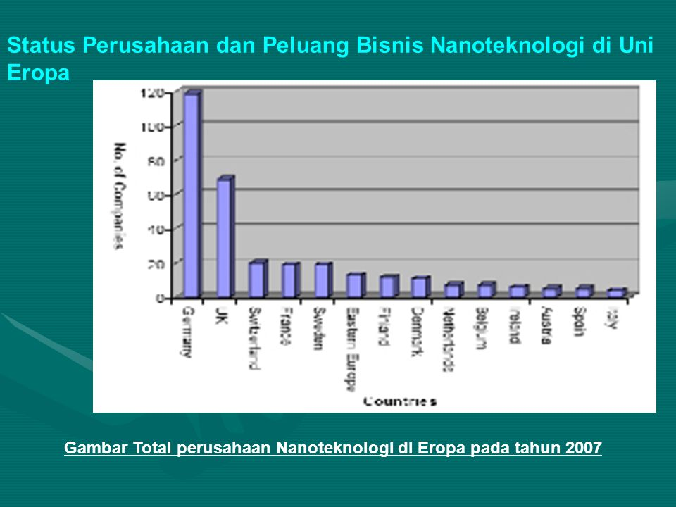 Status Perusahaan dan Peluang Bisnis Nanoteknologi di Uni Eropa