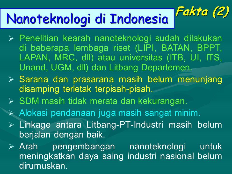 Nanoteknologi di Indonesia
