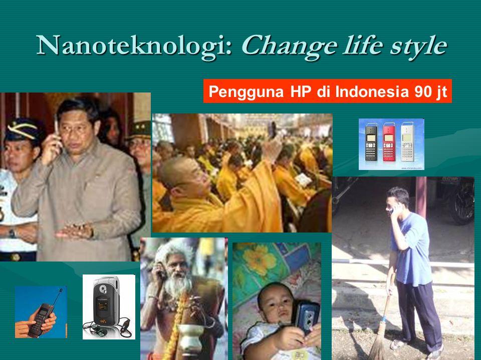 Nanoteknologi: Change life style