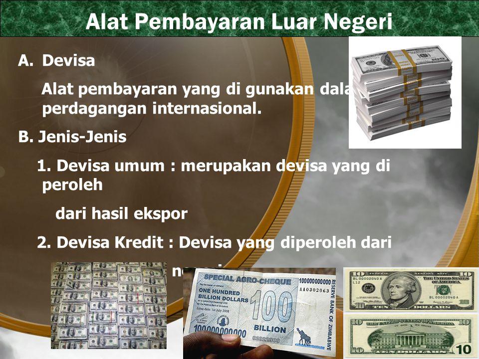 Alat Pembayaran Luar Negeri