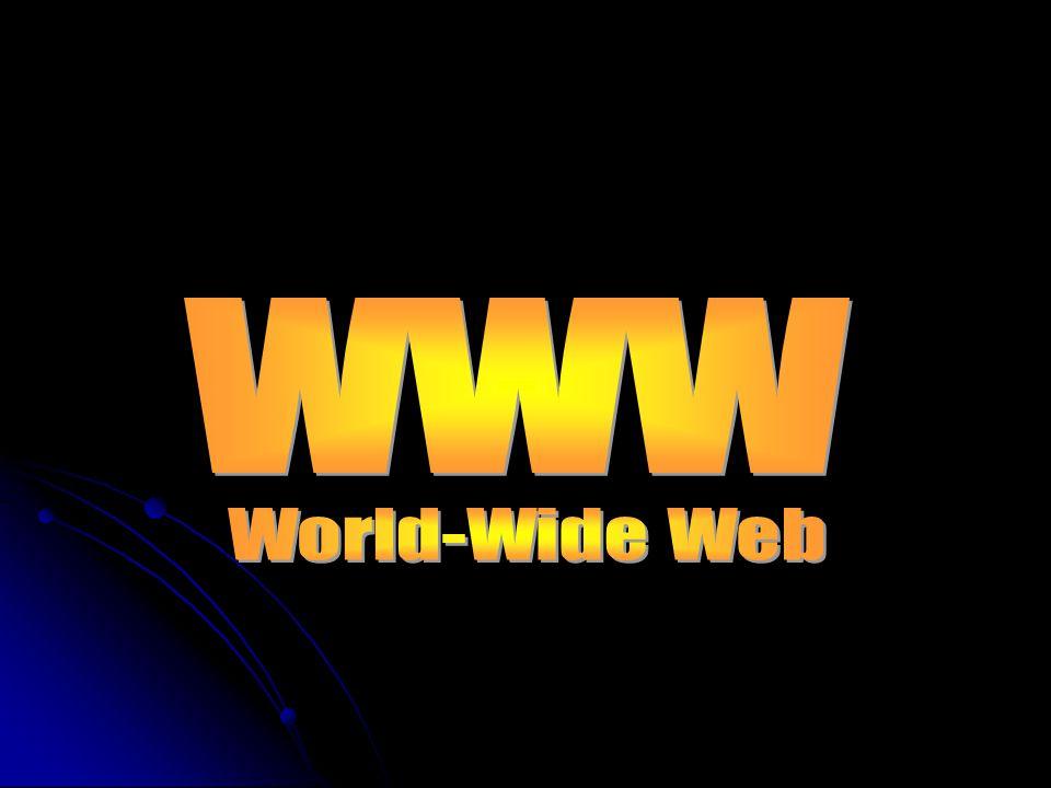 www World-Wide Web
