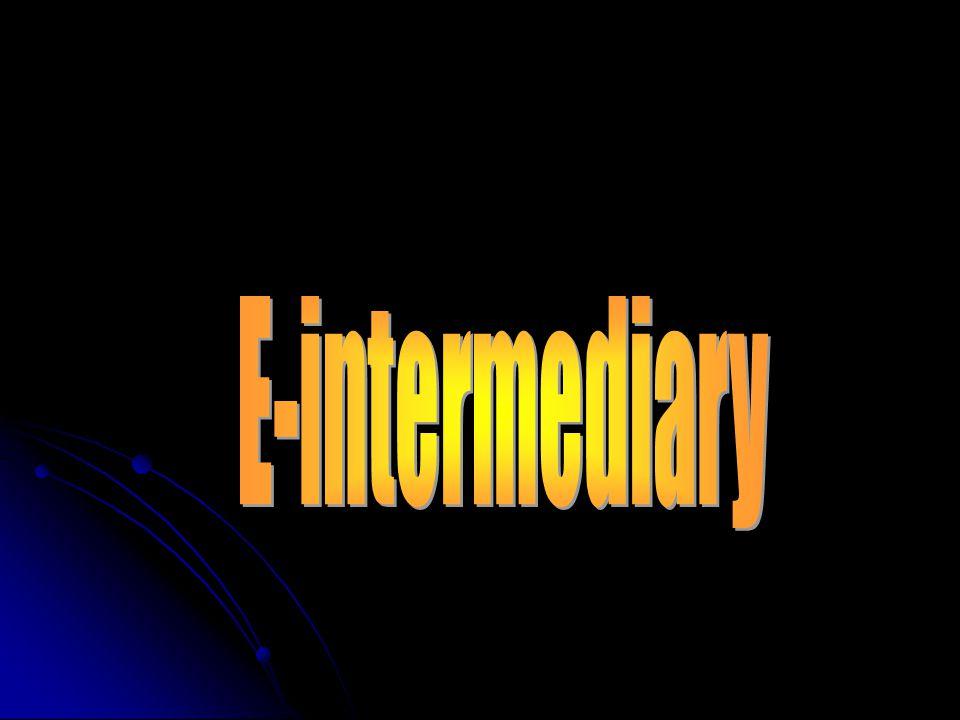 E-intermediary