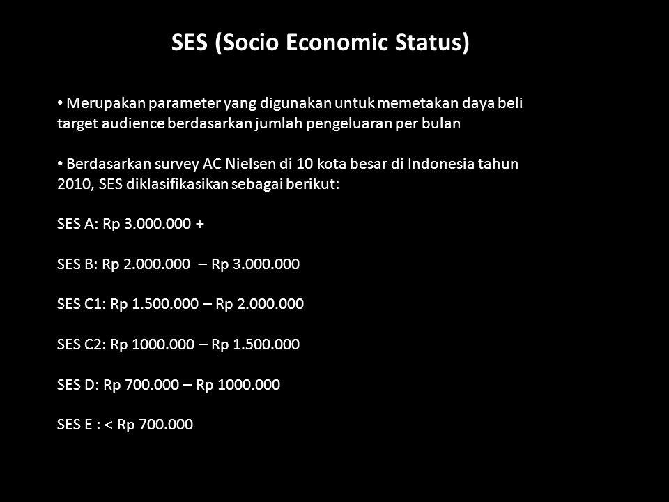 SES (Socio Economic Status)