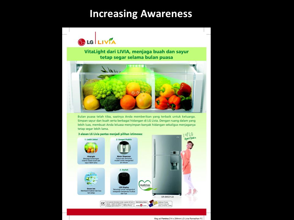Increasing Awareness