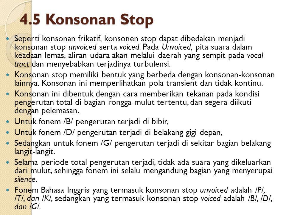 4.5 Konsonan Stop