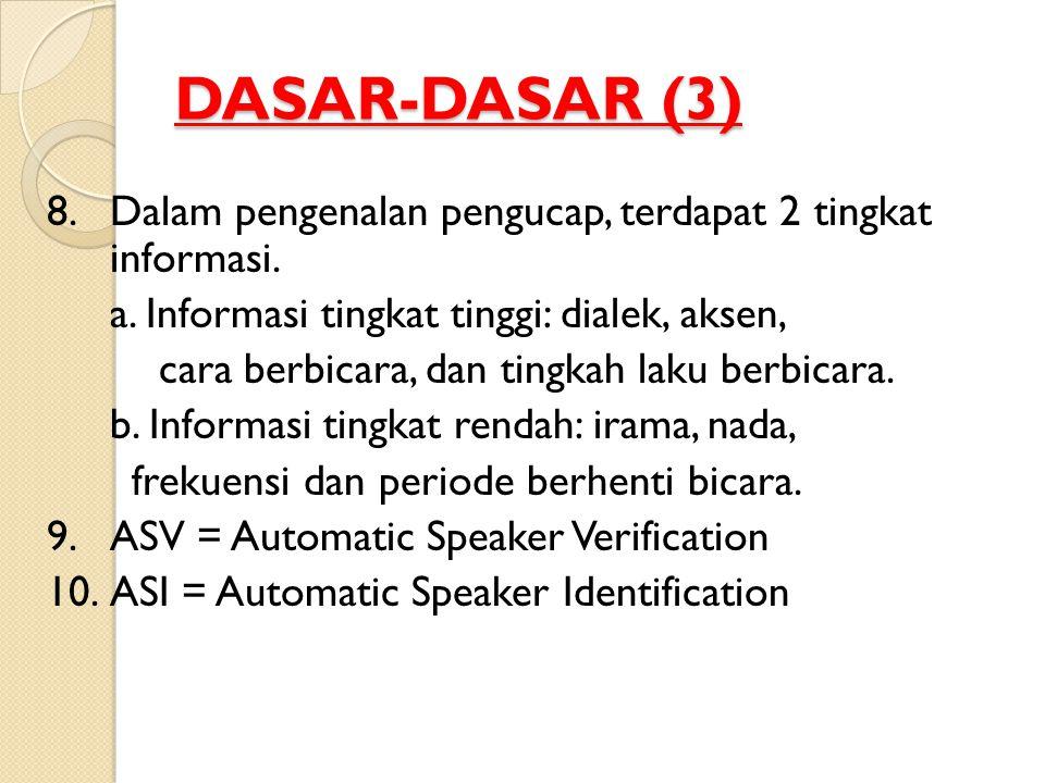 DASAR-DASAR (3)