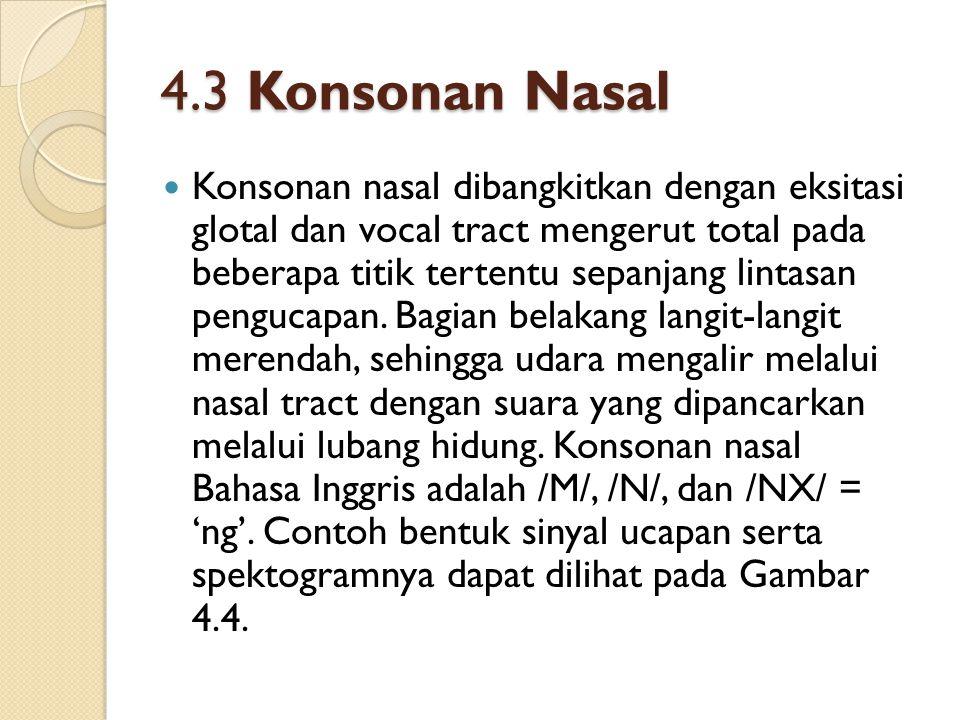4.3 Konsonan Nasal
