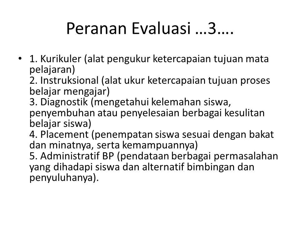 Peranan Evaluasi …3….