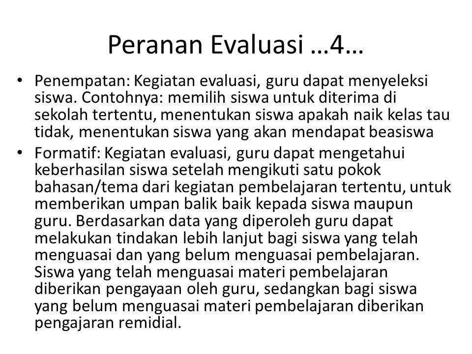 Peranan Evaluasi …4…